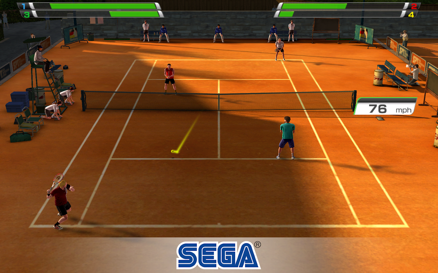 Virtua Tennis Challenge Screenshot 12