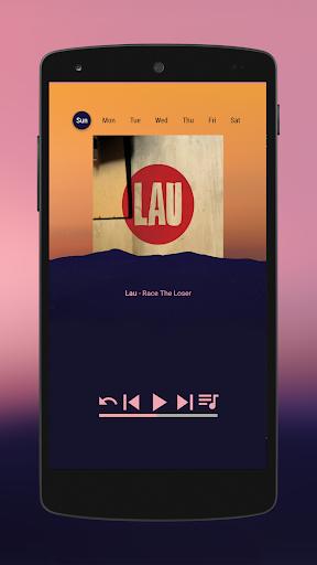 Behind for KLWP - screenshot