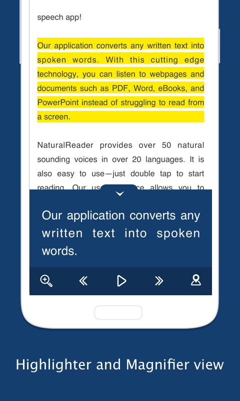 Text to Speech - NaturalReader Screenshot 3