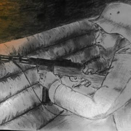 soldier by Marko Paakkanen - Drawing All Drawing