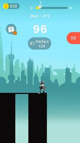 Crossing Gaps Screenshot