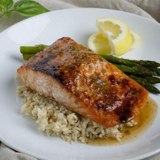 Honey Salmon Ginger Glaze Recipes