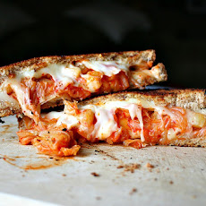 Kimchi and Pineapple Grilled Cheese