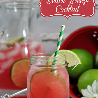 Beach Breeze Vodka Cocktails