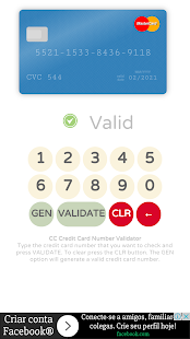 Credit Card Validator with CVV APK for Kindle Fire