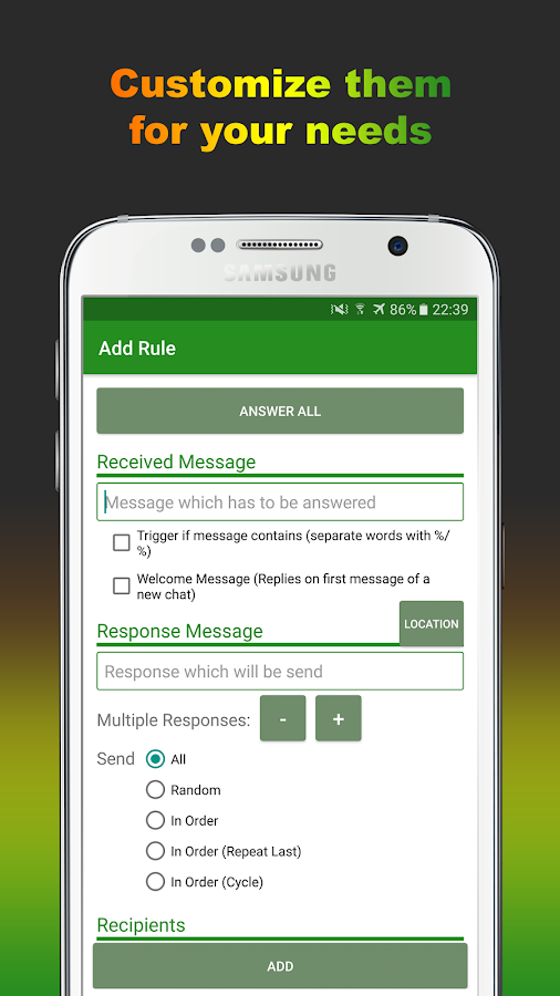 AutoResponder for WA Pro Screenshot 3