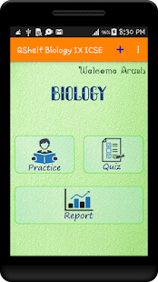 Biology IX ICSE QShelf - screenshot