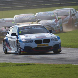 Last Lap II by Gareth Dickin - Sports & Fitness Motorsports ( car, corner, track, race )