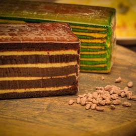 My Kek Lapis cokelat by Eeezam Mon - Food & Drink Cooking & Baking