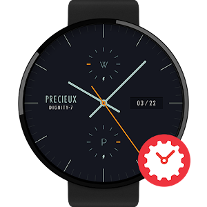 Cover art Dignity-7 watchface by Precieu