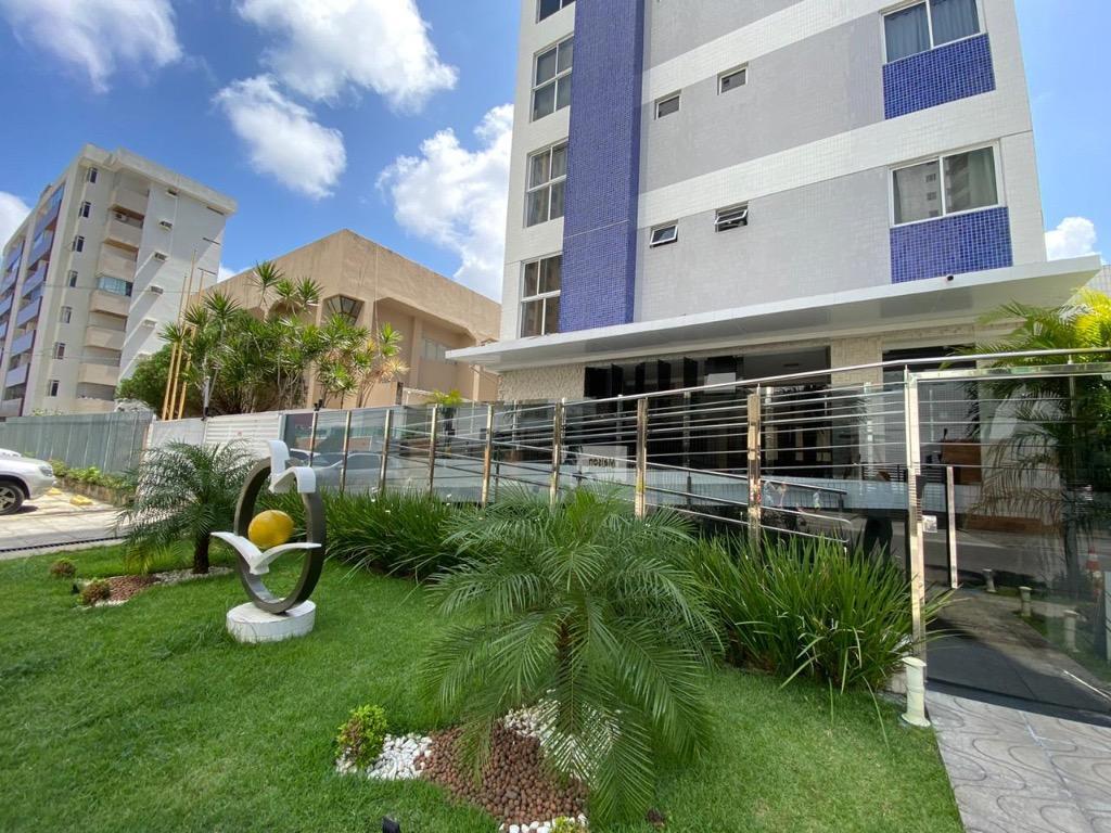 Apartamento com 2 dormitórios para alugar, 58 m² por R$ 1.025,00/ano - Tambaú - João Pessoa/PB