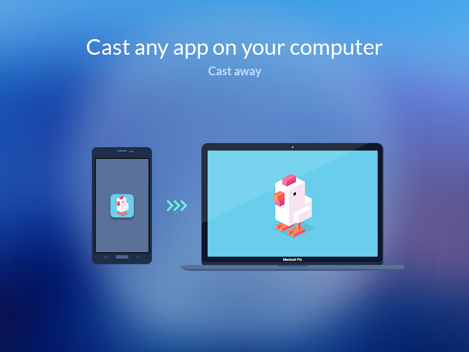 AppCast for BlueStacks – Screenshot