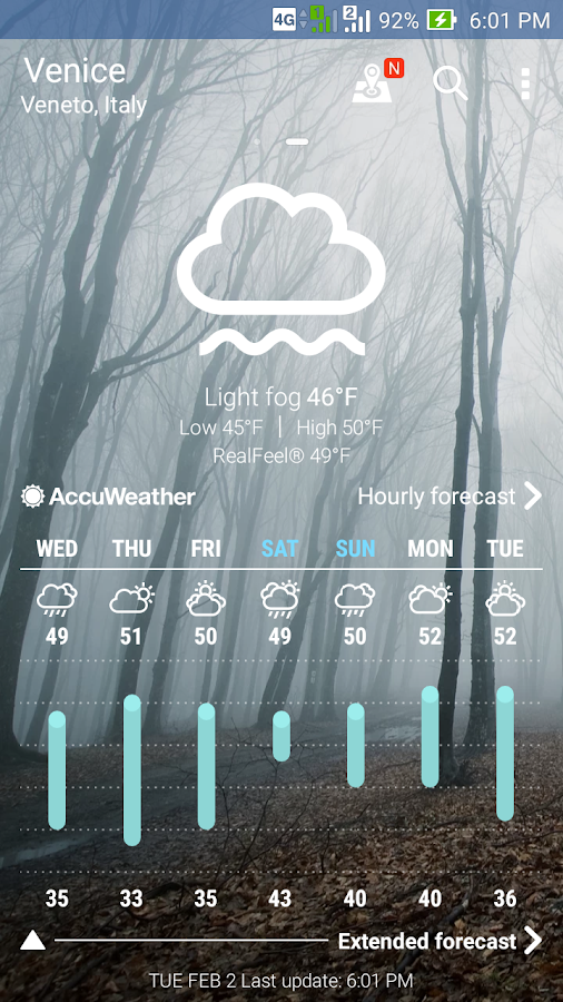 ASUS Weather Screenshot 0