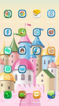 Princess Castle Launcher Theme APK screenshot thumbnail 2