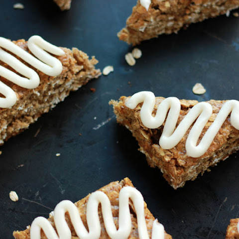 Cinnamon Brown Sugar Oatmeal Bars