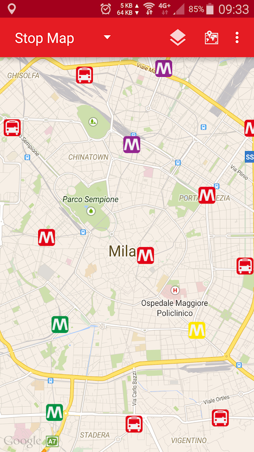 ATM Milan: Bus & Underground - Android Apps on Google Play