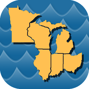 Stream Map USA - Great Lakes For PC