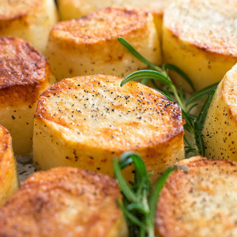 Rosemary Fondant Potatoes