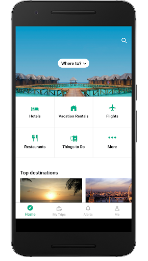 TripAdvisor Hotels Flights Restaurants Attractions screenshot 1
