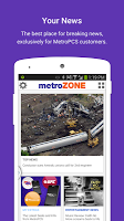 screenshot of metroZONE