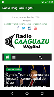 Radio Caaguazú Digital - screenshot