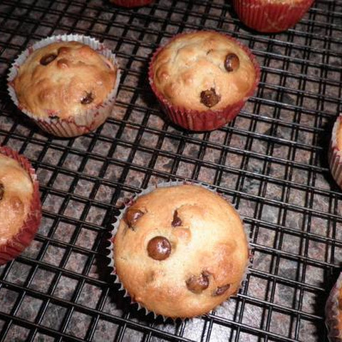 Chocolate Chip Holiday Muffins