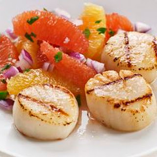 Grilled Scallops with Citrus Salsa