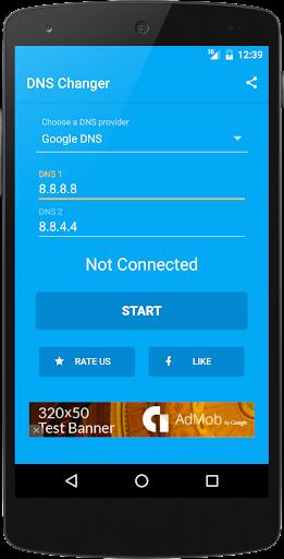 DNS Changer (no root 3G/WiFi) screenshot 1