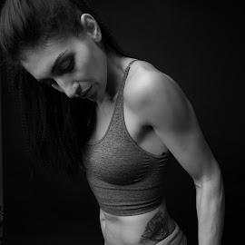 by Doru Mihail - Sports & Fitness Fitness ( body, fitness, woman, muscle, sports )