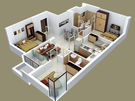 Как сделать дизайн на весь дом 959