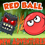 Super Red Ball Adventures,jump,bounce,roll Icon