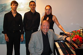 With Pupils During Master Classes in Portugal, 2009