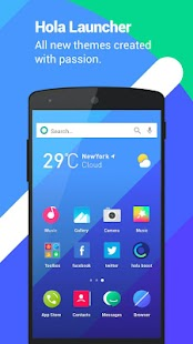 Download Full Hola Launcher- Theme,Wallpaper 3.0.3 APK