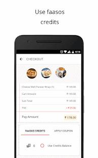 App FAASOS - Order Food Online APK for Kindle