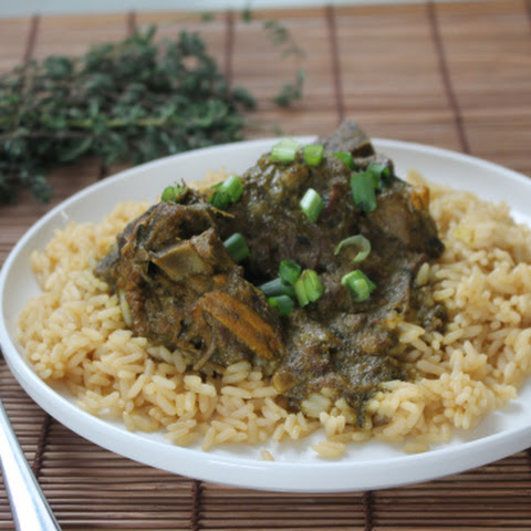 Slow Cooked Curried Lamb (Simple)