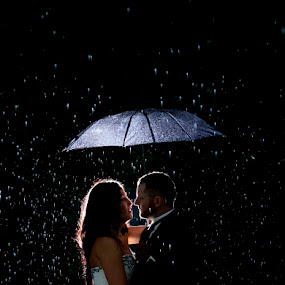 Wedding Rain by Brent Foster - Wedding Bride & Groom ( wedding photographers in london ontario, wedding photographers in ontario, london ontario wedding photographers )