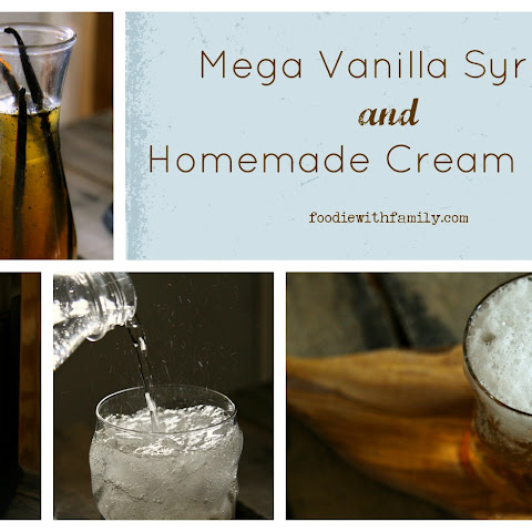 Mega Vanilla Syrup and Homemade Cream Soda