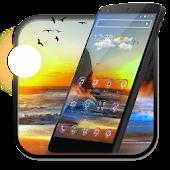 Download Seaside Sun Rise Launcher APK on PC