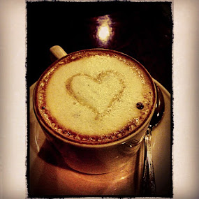 Hot Choco in the morning .. ☕������ by Oyie Inkiriwang - Instagram & Mobile Instagram ( coffee, cappucino, yummy )