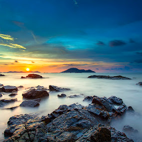 Heart of Stone by Andre Adhie - Landscapes Sunsets & Sunrises