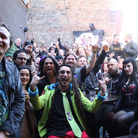 MetalMeetUp by Victor Robertson - People Musicians & Entertainers ( dave balfour, sara hussain, tom kovacevic, clayton mud mercer, victor robertson )