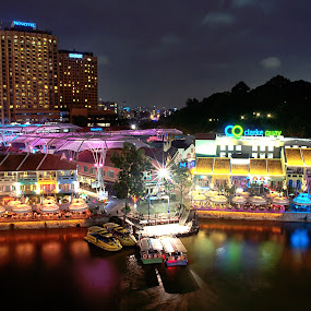 The Famous Clarke Quay by Riki Boo - Buildings & Architecture Other Exteriors