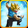 Goku Saiyan Battle