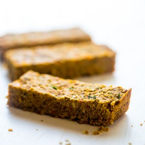 Vegan Coconut Almond Homemade Protein Bars with Hidden Veggies