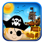 Pirate Games for Kids Free Icon