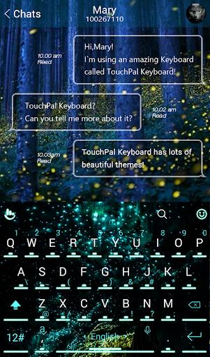 Summer Blinker Keyboard Theme - screenshot