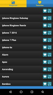 Phone7 OS10 Ringtones - screenshot