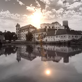 Hradec  by Michal Janda - Black & White Buildings & Architecture