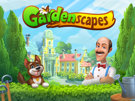 Gardenscapes apk screenshot