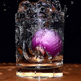Onion Dip by Angelo Jadulco - Food & Drink Fruits & Vegetables ( water, splash, spice, drop, onion )
